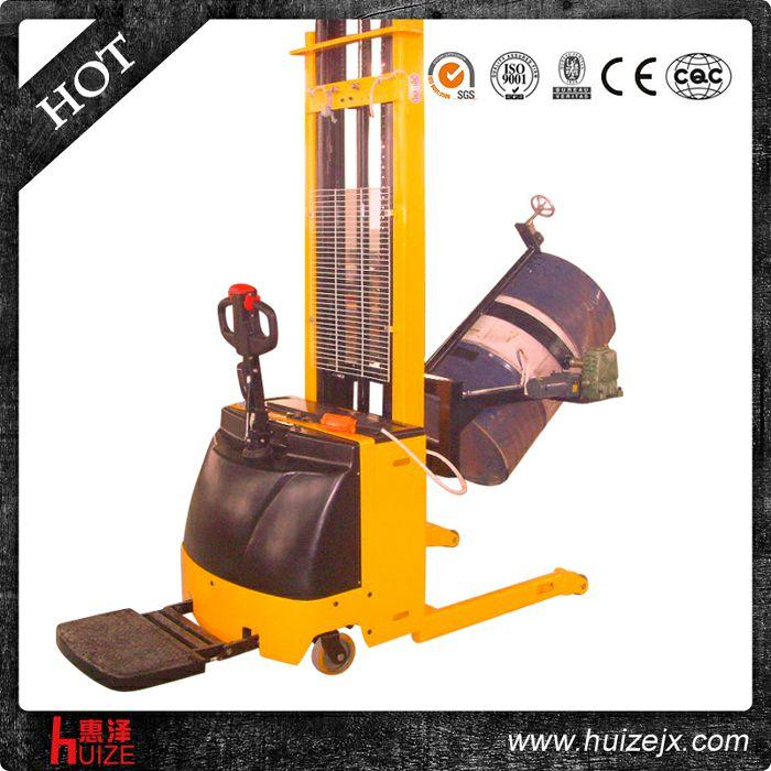 升高1.6米全电动油桶车(手夹紧,适合铁桶)