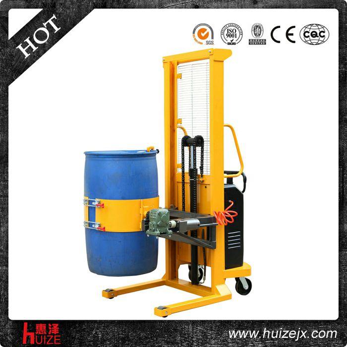 半电动多功能油桶车(单门架,夹塑桶)