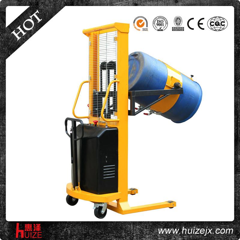 半电动称重油桶车(夹塑桶)