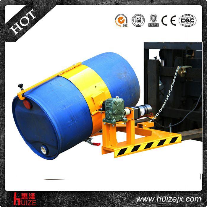 叉车专用倒桶机具(塑铁桶,电翻转)