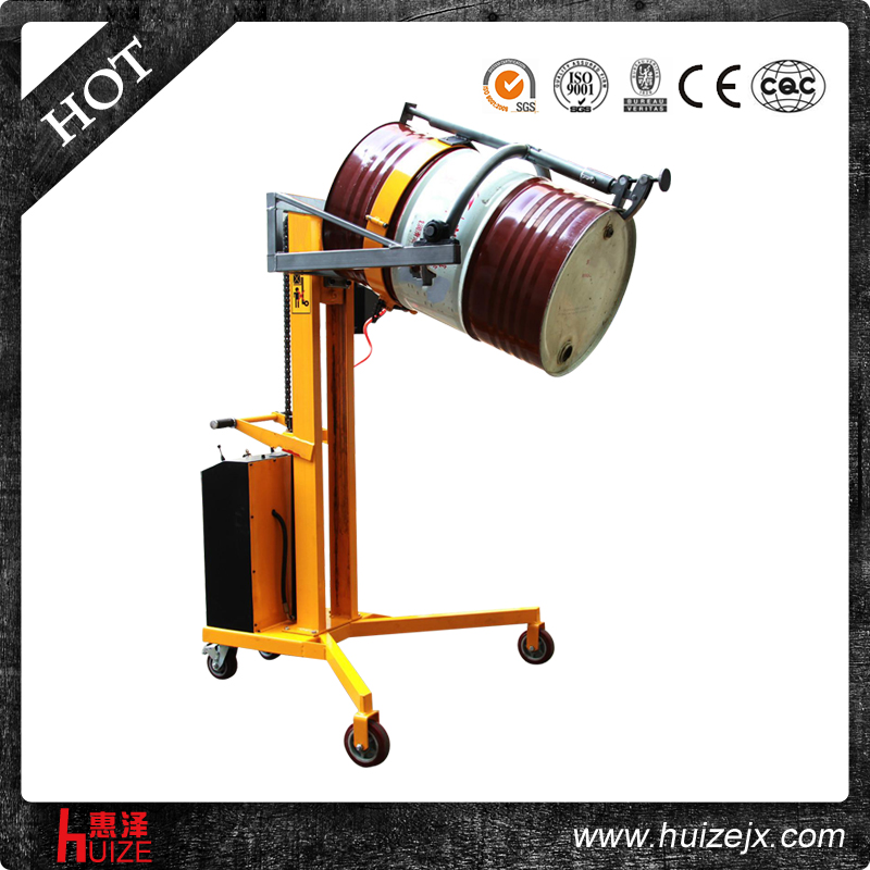半电动油桶车(直角腿,夹铁桶翻转)