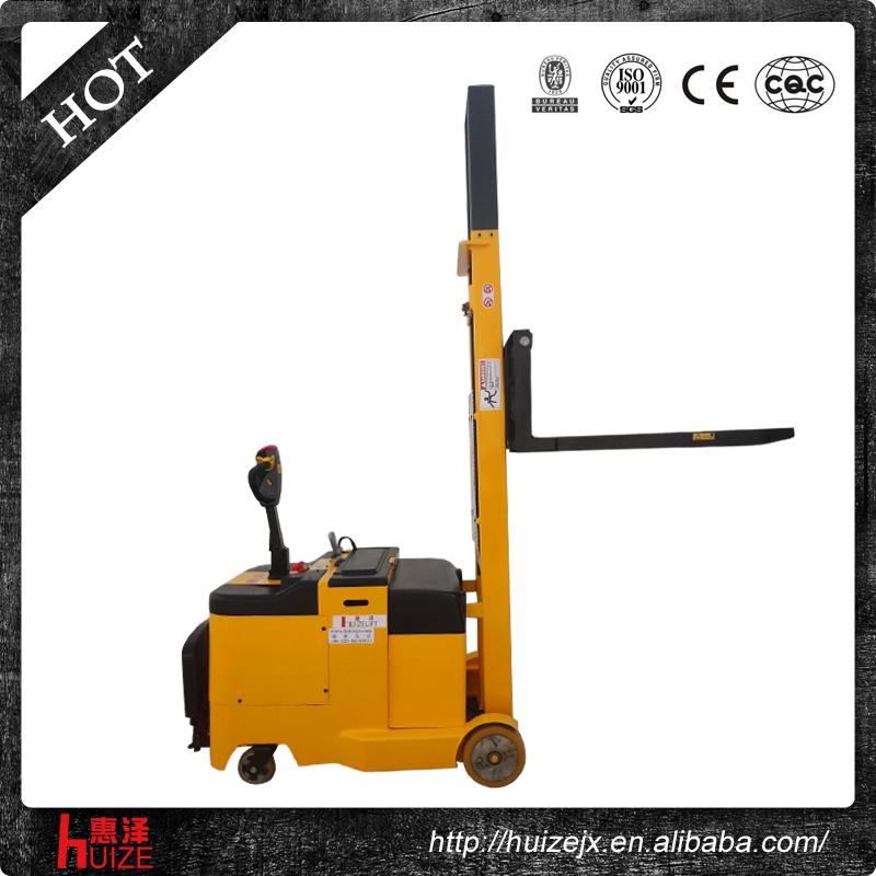 平衡重式电动叉车(折叠式踏板)