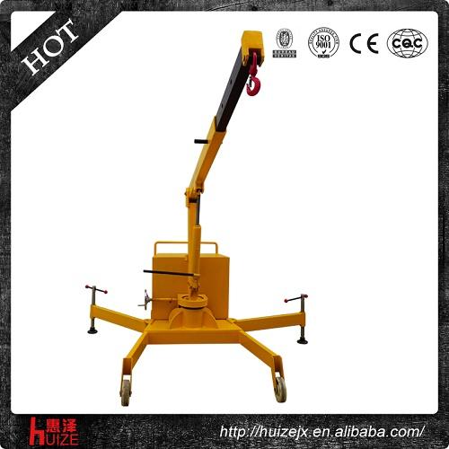 配重式液压吊车(SD-B-1T)