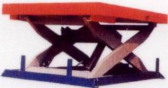 固定式升降平台 剪叉式两面护栏要挖地坑