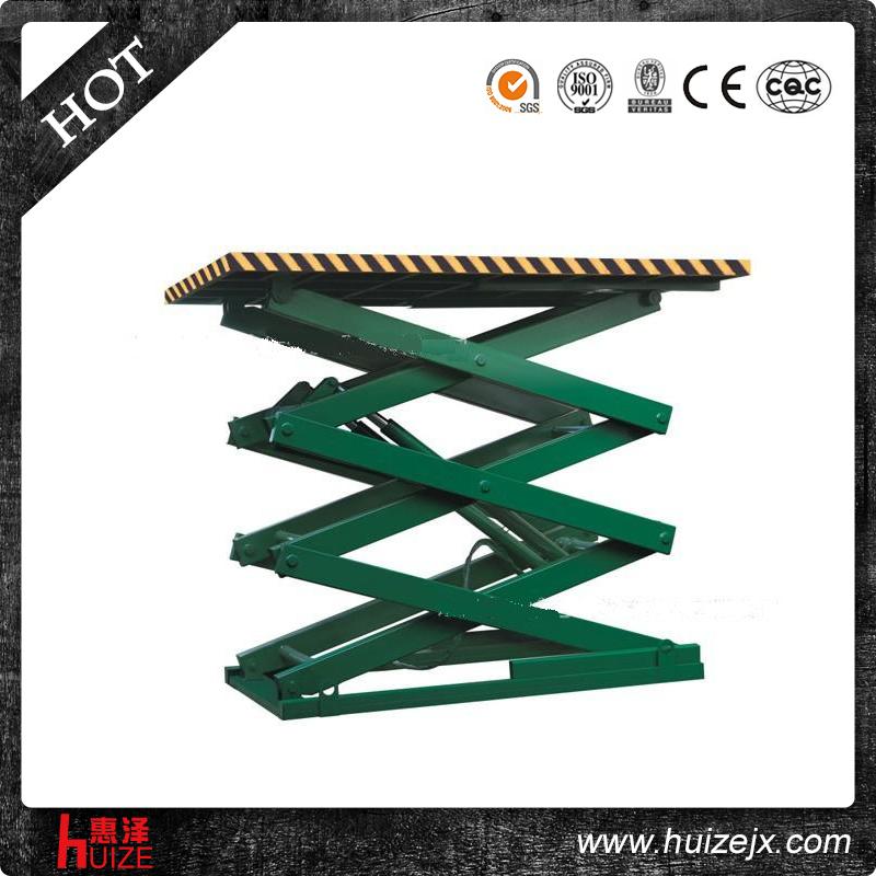 固定式升降平台(螺丝拧固定在地面上)