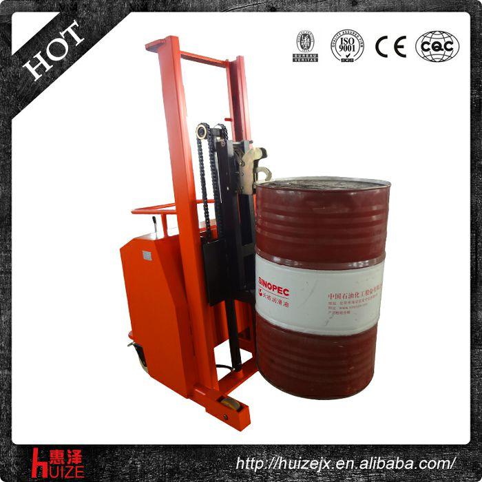 半电动配重油桶车(无底腿,只堆垛,不翻转)