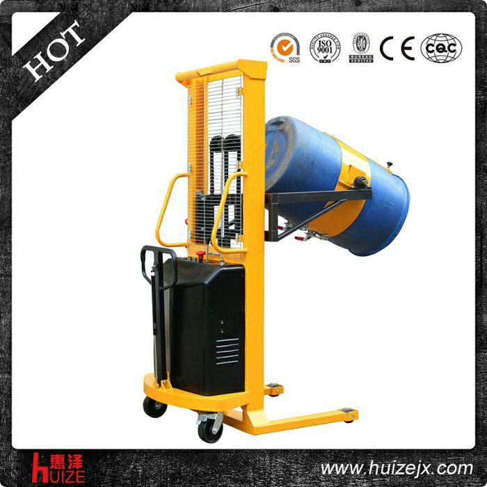 半电动多功能油桶车