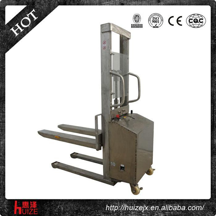 半电动堆高车(不锈钢304材质)