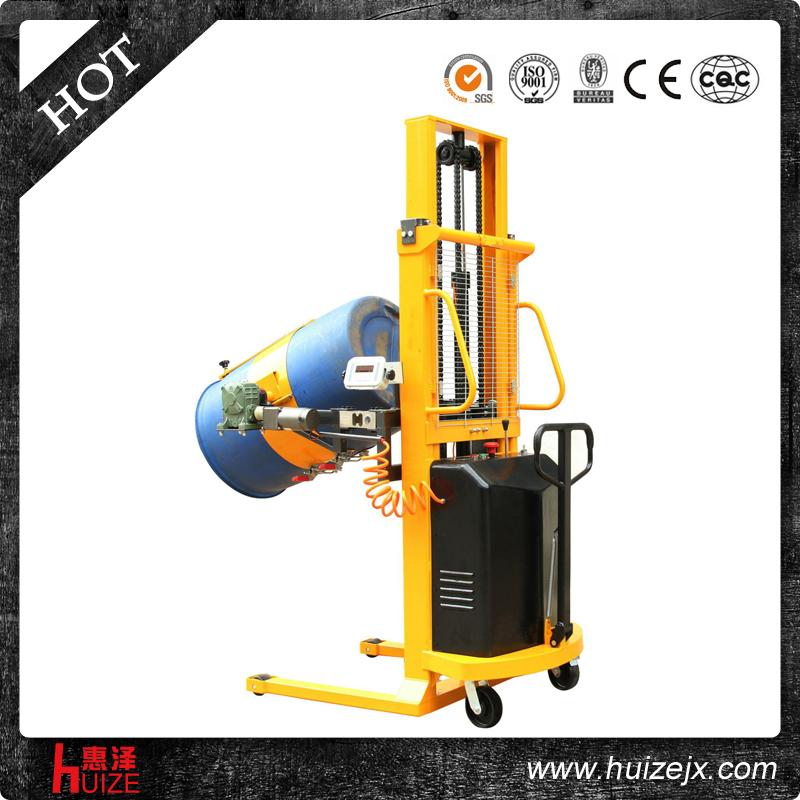 半电动称重油桶车(多功能)